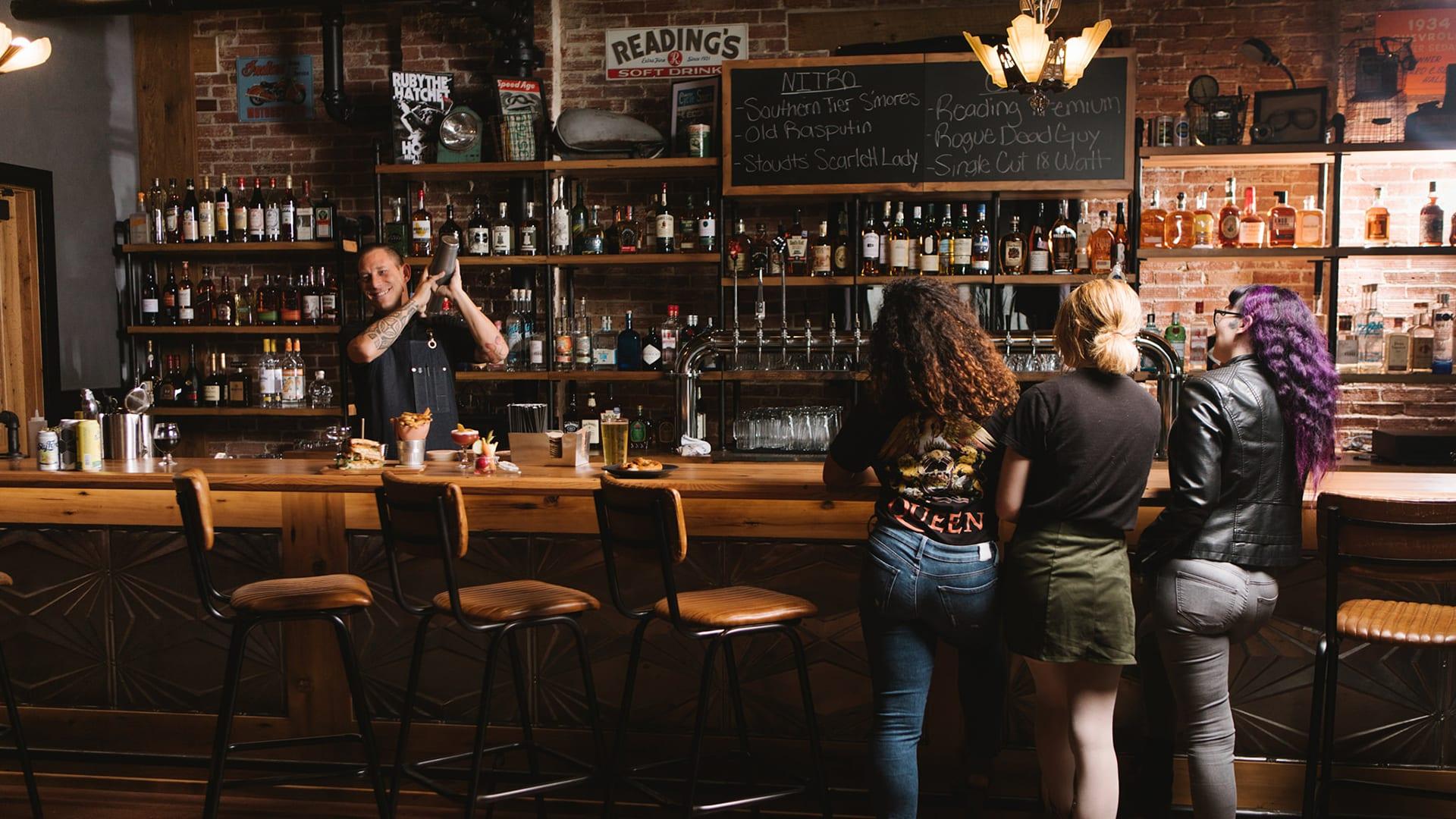 Drinks at Nitro Bar